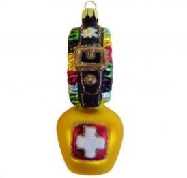 Weihnachtsdekoration - Baumschmuck Glocke