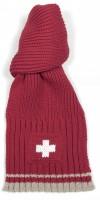 Winterschal Schweizer Kreuz, rot
