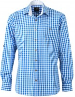 Trachten Hemd, blau