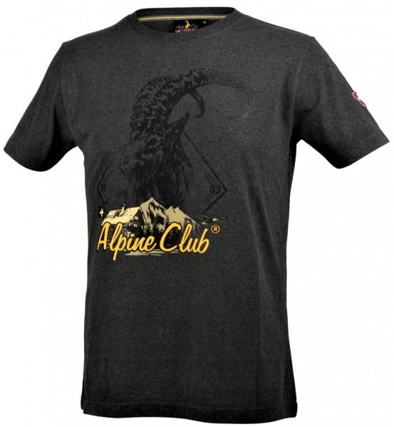 Herren T-Shirt Steinbock Alpine Club