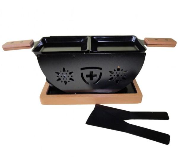 Raclette-Öffeli Blumen, 2 Personen