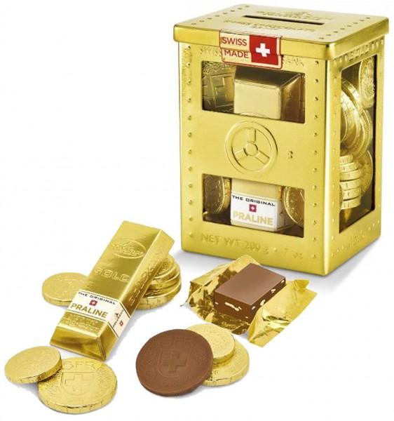 Mini-Safe Schokolade