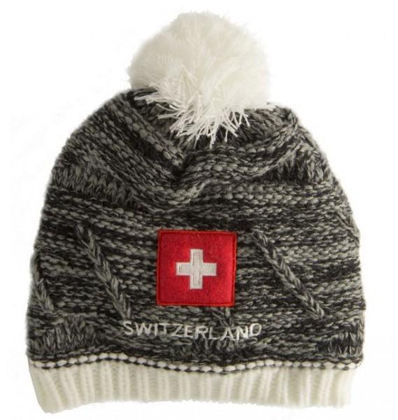 Wintermütze Schweizerkreuz