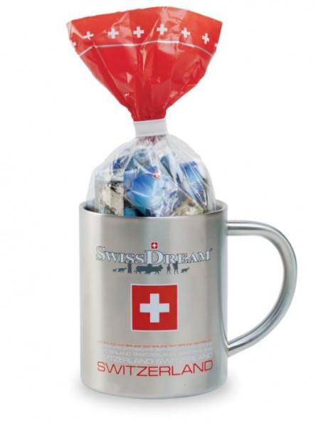 Napolitains Metall-Mug Schokolade