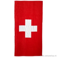 Badetuch Swiss Cross 75 x 150 cm, rot