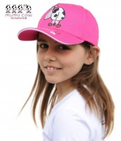 Kindermütze Mumucow Strass, fuchsia