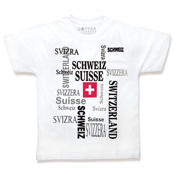 T-Shirt CH-KREUZWORT