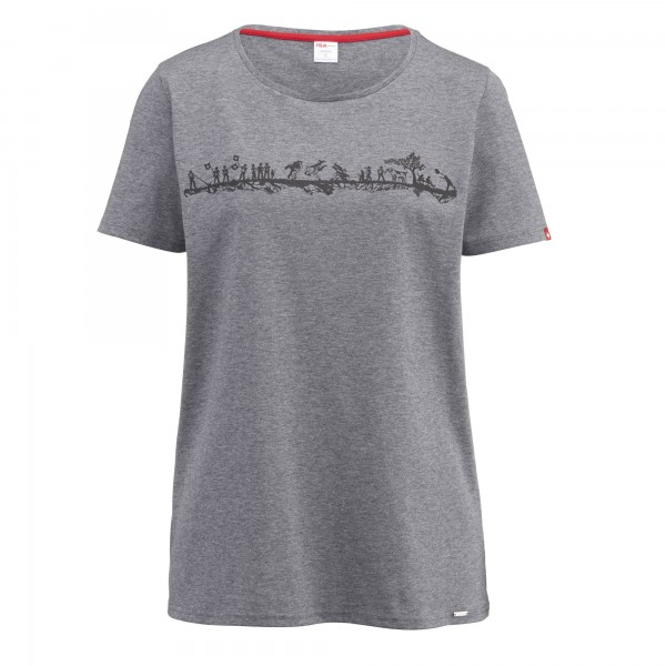 Damen T-Shirt Alpenschick Swiss
