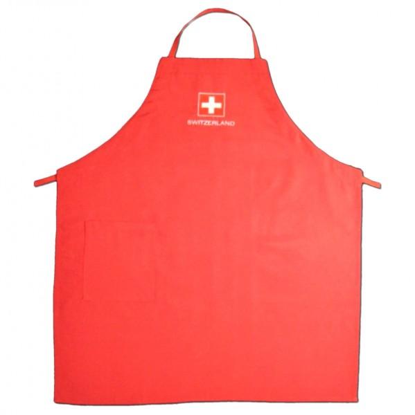 Küchenschürze Schweizerkreuz Switzerland, rot
