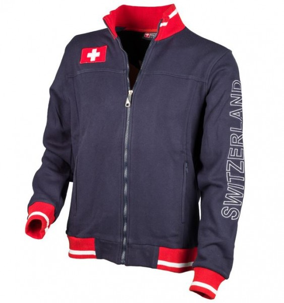 Urban-Jacke Polo Club Switzerland, dunkelblau