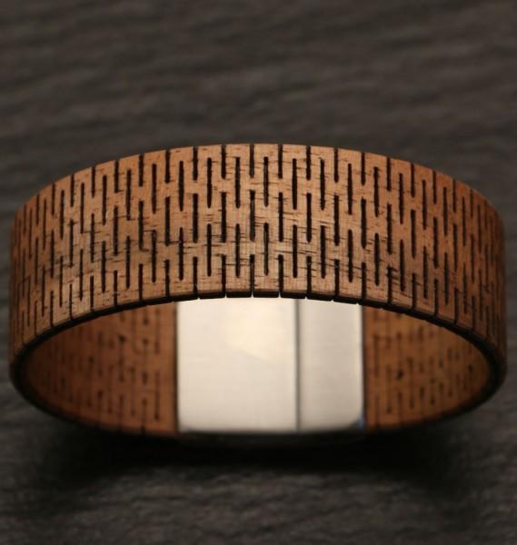 Holz Armband golpe schmal
