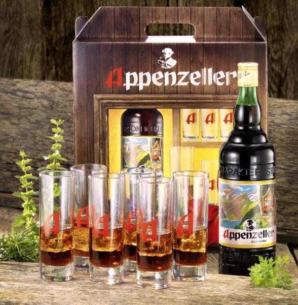 "Appenzeller Alpenbitter Geschenkpackung ""Longdrink"""
