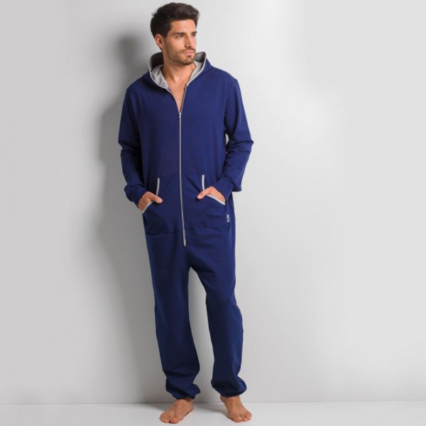 GaggoHaas Pyjama Onesie Herren Jumpsuit mit Kapuze