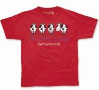 Herren T-Shirt Mumucow, rot