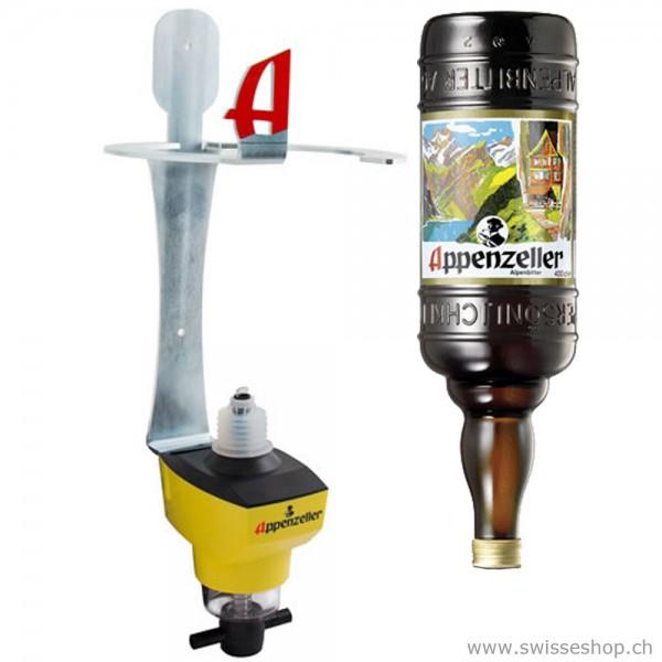 Appenzeller Alpenbitter 4 Liter mit Halterung