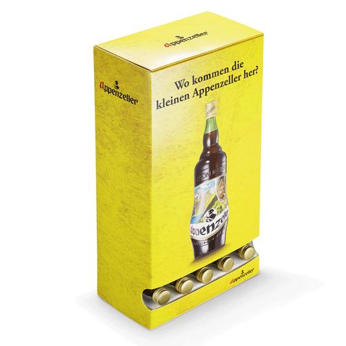Appenzeller Alpenbitter Dispenserbox Miniaturen