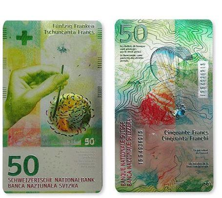 Magnet Schweizer Banknote CHF 50.-