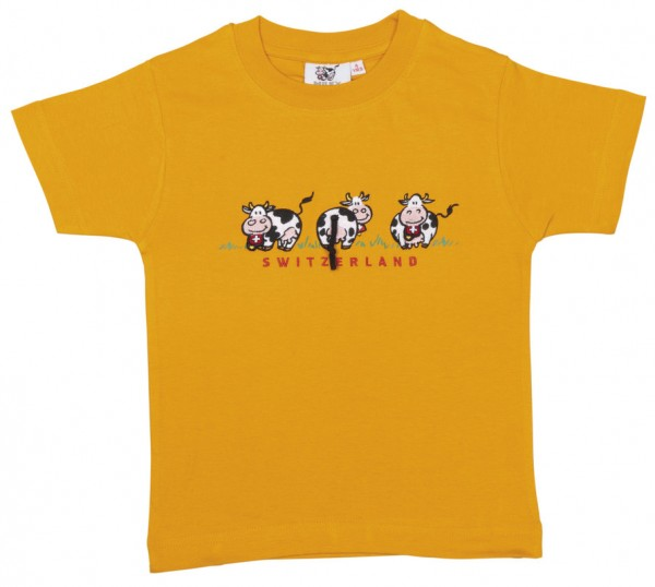 Kinder T-Shirt 3 Milch-Kuh,