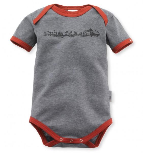 Baby-Body Alpenschick Swiss, anthrazit