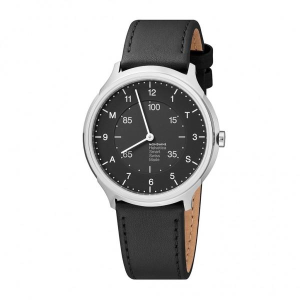 Armbanduhr Smartwatch Mondaine Helvetica No1 Regular