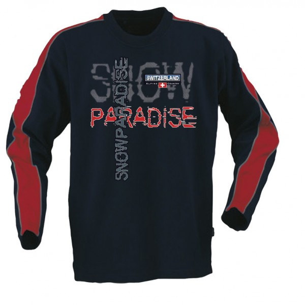 T-Shirt Langarm Snow paradise