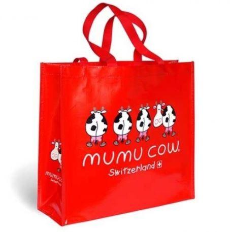 Einkaufstasche Mumucow rot