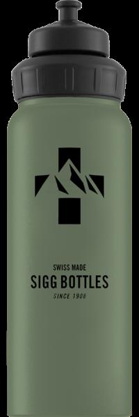 SIGG-Trinkflasche WMB Mountain Green Leaf 1 Liter