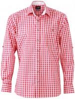 Trachten Hemd, rot