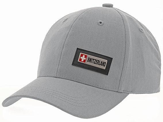 Schildmütze mit CH-Metall-Wappen Switzerland