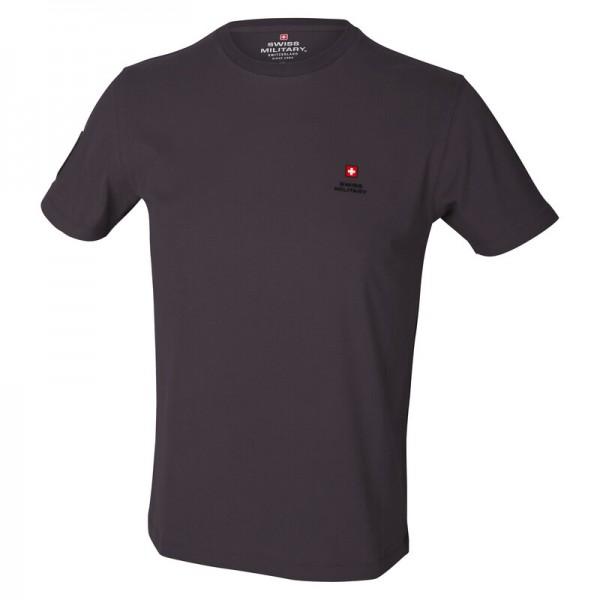 Herren T-Shirt Swiss Military Schweizerkreuz