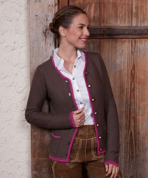 Damen Strickjacke im Trachtenlook
