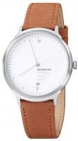 Armbanduhr Mondaine Helvetica 1, braun