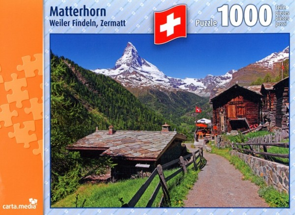 Puzzle 1000 Teile Matterhorn