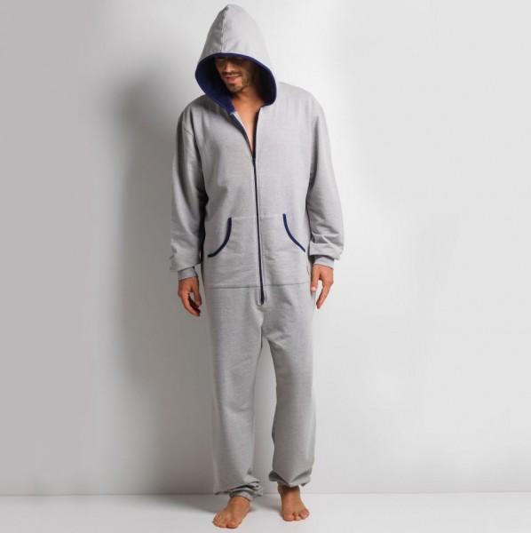 GaggoHaas Pyjama Onesie Herren mit Kapuze