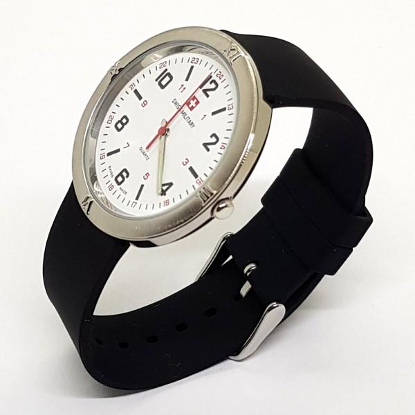 Armbanduhr Swiss Military, schwarz