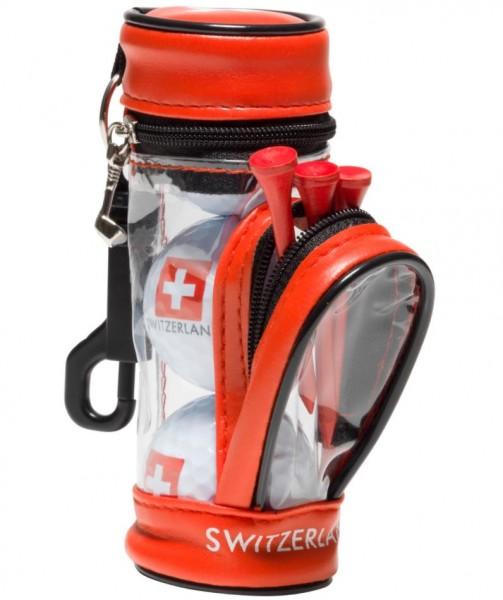 Golftasche für 3 Golfbällen und 3 Steckern