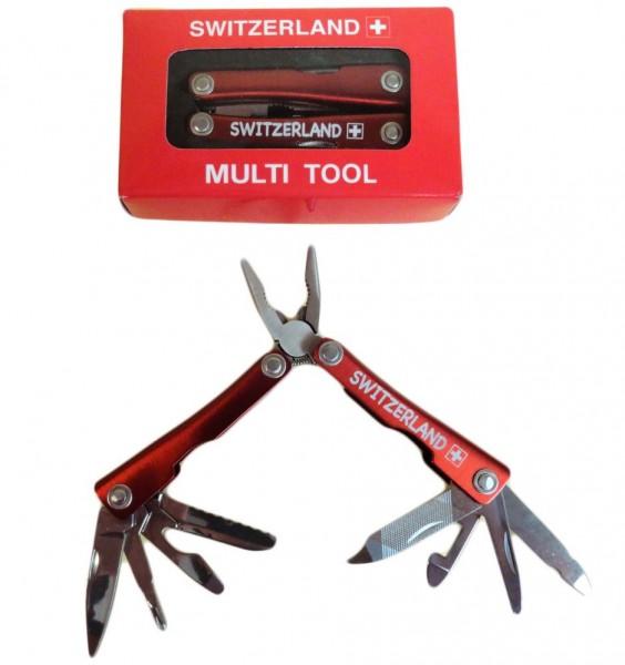 Multifunktionswerkzeug, rot