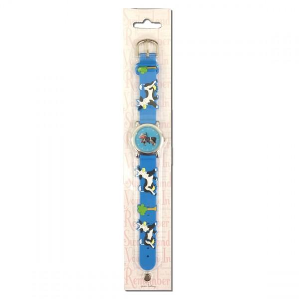 Kinder Armbanduhr, blau