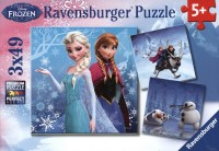Disney Frozen: Abenteuer im Winterland - Puzzle [3x49 Teile]