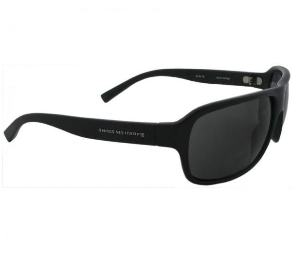 Elegante Sonnenbrille, matt-schwarz, 100% UV Schutz