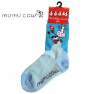 Socken MUMU COW blau