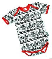 Baby-Body SCHERENSCHNITT, 1/4 Sleeve ON 62/68