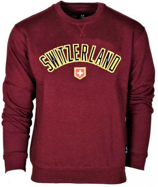 Männer Pullover Switzerland Schweizer Wappen