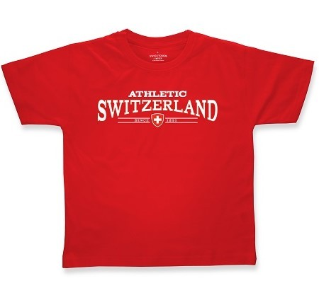 T-Shirt Athletic Switzerland