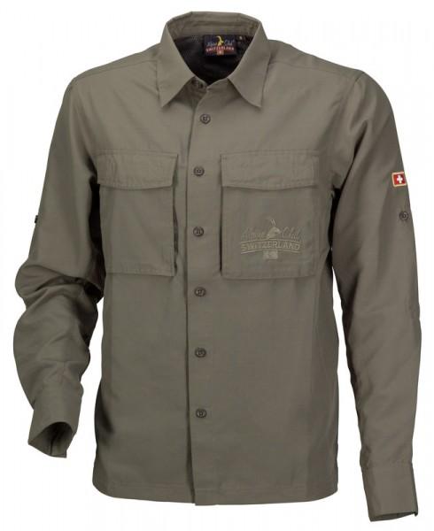 Funktionelles Fischerhemd, khaki