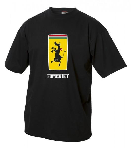 T-Shirt Formula 1 Schweizer Wild-Kuh