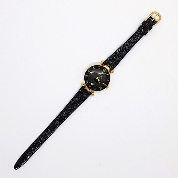 Damen Armbanduhr, schwarz
