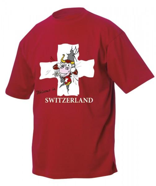 Kinder T-Shirt, CH-Kreuz