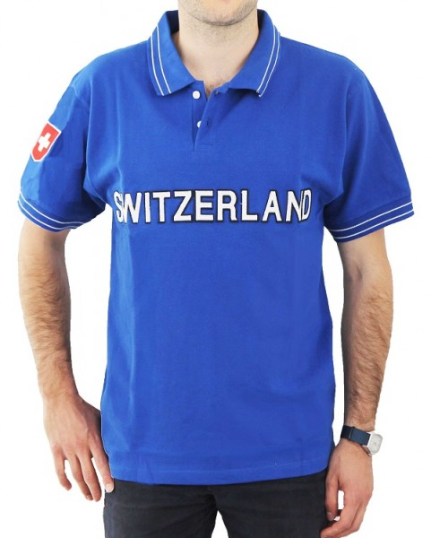 Poloshirt Switzerland, Unisex