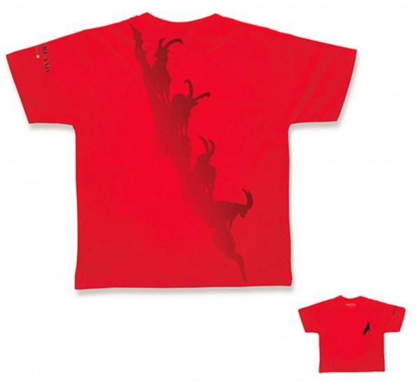 Herren T-Shirt Alptitude, rot